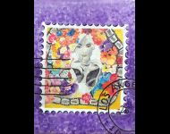 Marilyn - francobollo / stamp